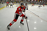 18 January 2008: Northeastern University Huskies' forward Chad Costello, a Sophomore from Johnston, IA, in action against the University of Vermont Catamounts at Gutterson Fieldhouse in Burlington, Vermont. The two teams battled to a 2-2 tie in the first game of their 2-game weekend series...Mandatory Photo Credit: Ed Wolfstein Photo