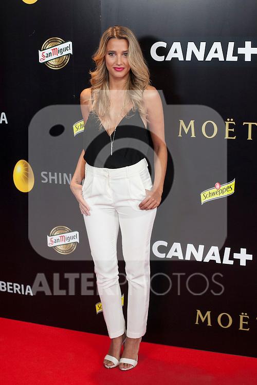 Corina Randazzo poses during Pacha `El arquitecto de la noche´ film premiere in Madrid, Spain. May 25, 2015. (ALTERPHOTOS/Victor Blanco)