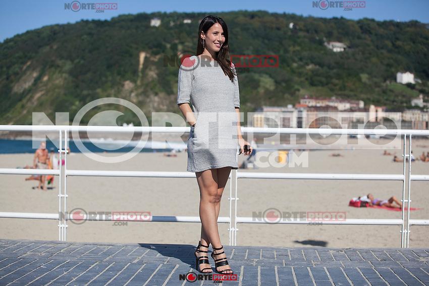Spanish actress Barbara Goenaga poses during 63rd Donostia Zinemaldia (San Sebastian International Film Festival) in San Sebastian, Spain. September XX, 2015. (ALTERPHOTOS/Victor Blanco) /NortePhoto.com