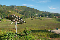 Solar panel at St. Bakhita Mission, near the village of Eraulo in the Ermera District of Timor-Leste (East Timor)..
