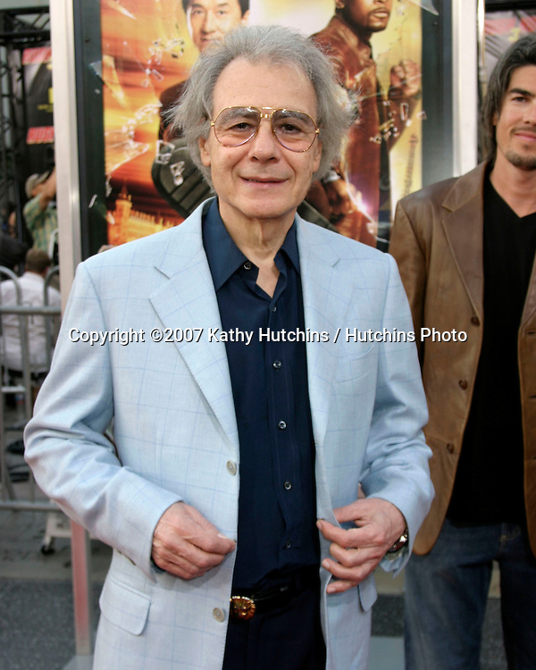 """Lalo Schifrin.""""Rush Hour 3"""" Premiere.Grauman's Chinese.Los Angeles, CA.July 30, 2007.©2007 Kathy Hutchins / Hutchins Photo...."""