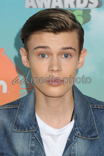 12 March 2016 - Inglewood, California - Benjamin Lasnier. 2016 Nickelodeon Kids' Choice Awards held at The Forum. Photo Credit: Byron Purvis/AdMedia