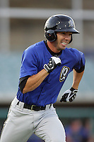 April 17, 2010: Tyson Auer of the Rancho Cucamonga Quakes during game against the Lancaster JetHawks at Clear Channel Stadium in Lancaster,CA.  Photo by Larry Goren/Four Seam Images