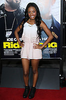 "HOLLYWOOD, CA - JANUARY 13: Imani Hakim at the Los Angeles Premiere Of Universal Pictures' ""Ride Along"" held at the TCL Chinese Theatre on January 13, 2014 in Hollywood, California. (Photo by David Acosta/Celebrity Monitor)"