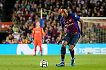 Yerry Fernando Mina of FC Barcelona in action during the La Liga match between Barcelona and Real Sociedad at Camp Nou on May 20, 2018 in Barcelona, Spain. Photo by Vicens Gimenez / Power Sport Images