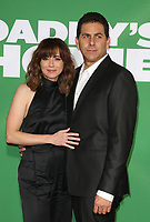 WESTWOOD, CA - NOVEMBER 5: Linda Cardellini and Steve Rodriguez at the premiere of Daddy's Home 2 at the Regency Village Theater in Westwood, California on November 5, 2017. Credit: Faye Sadou/MediaPunch