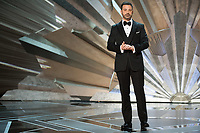 Host Jimmy Kimmel at The 90th Oscars&reg; at the Dolby&reg; Theatre in Hollywood, CA on Sunday, March 4, 2018.<br /> *Editorial Use Only*<br /> CAP/PLF/AMPAS<br /> Supplied by Capital Pictures