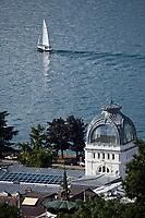 Europe/France/Rhône-Alpes/74/Haute Savoie/ Evian-les-Bains:  Le Palais Lumière,  Centre de Congrés  situé dans les anciens thermes de 1902