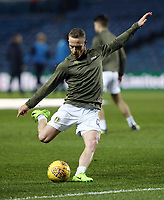 Leeds United's Adam Forshaw during the pre-match warm-up <br /> <br /> Photographer Rich Linley/CameraSport<br /> <br /> The EFL Sky Bet Championship - Leeds United v Reading - Tuesday 27th November 2018 - Elland Road - Leeds<br /> <br /> World Copyright &copy; 2018 CameraSport. All rights reserved. 43 Linden Ave. Countesthorpe. Leicester. England. LE8 5PG - Tel: +44 (0) 116 277 4147 - admin@camerasport.com - www.camerasport.com