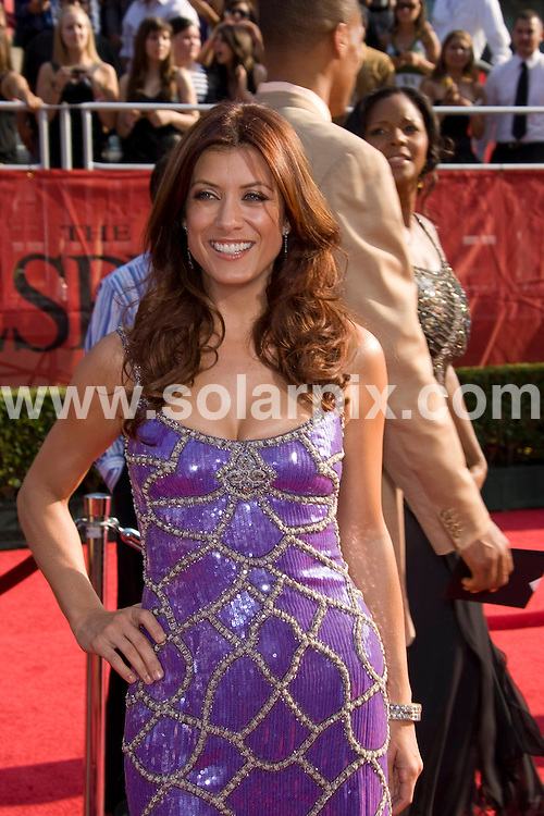 **ALL ROUND PICTURES FROM SOLARPIX.COM**.**SYNDICATION RIGHTS FOR UK, SPAIN, PORTUGAL, AUSTRALIA, S.AFRICA & DUBAI (U.A.E) ONLY**.David Beckham and Victoria Beckham attends the 16th Annual ESPY at the Nokia Theatre in Los Angeles, California in the USA. .This pic:Kate Walsh..JOB REF:6850- PHZ/Chris Hatcher    DATE:16_07_08 .**MUST CREDIT SOLARPIX.COM OR DOUBLE FEE WILL BE CHARGED* *UNDER NO CIRCUMSTANCES IS THIS IMAGE TO BE REPRODUCED FOR ANY ONLINE EDITION WITHOUT PRIOR PERMISSION*