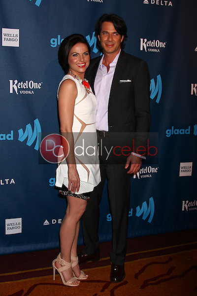 Lana Parilla<br /> at the 24th Annual GLAAD Media Awards, JW Marriott, Los Angeles, CA 04-20-13<br /> David Edwards/DailyCeleb.Com 818-249-4998