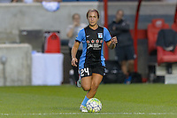 Chicago, IL - Sunday Sept. 04, 2016: Danielle Colaprico during a regular season National Women's Soccer League (NWSL) match between the Chicago Red Stars and Seattle Reign FC at Toyota Park.