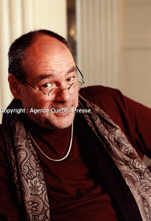 Undated File Photo - andre Montmorency<br /> <br /> PHOTO :  Agence Quebec Presse