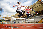 Pix: Shaun Flannery/sf-pictures.com....COPYRIGHT PICTURE>>SHAUN FLANNERY>01302-570814>>07778315553>>..4th July 2008..............CE Electric announces new funding for England Athletics..Pictured at Don Valley Stadium, Sheffield are Geoff Earl, Head of Connections Delivery CE Electric & Marie Dixon, Regional Manager for England Athletics Yorkshire & Humberside.