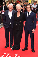 "Richard Eyre, Emma Thompson and Fionn Whitehead<br /> arriving for the premiere of ""The Children Act"" at the Curzon Mayfair, London<br /> <br /> ©Ash Knotek  D3420  16/08/2018"