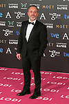 Javier Gutierrez attend the 2015 Goya Awards at Auditorium Hotel, Madrid,  Spain. February 07, 2015.(ALTERPHOTOS/)Carlos Dafonte)