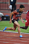 Ryota Yamagata (JPN), <br /> AUGUST 25, 2018 - Athletics : Men's 100m ROUND 1 at Gelora Bung Karno Main Stadium during the 2018 Jakarta Palembang Asian Games in Jakarta, Indonesia. <br /> (Photo by MATSUO.K/AFLO SPORT)