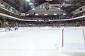 Matthews Arena - The Boston College Eagles and Northeastern University Huskies tied at 1 on Saturday, October 22, 2005, at Matthews Arena in Boston, Massachusetts.