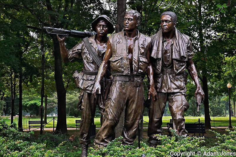 The Three Soldiers, Vietnam Veterans Memorial, Washington, D.C.