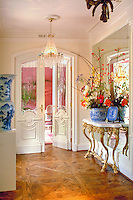 Luxury, Contemporary Home, Interior, Doorway Entrance, Wood Molding .jpg