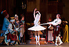 Le Corsaire <br /> by Alexei Ratmansky of Petipa <br /> Bolshoi Ballet <br /> at The Royal Opera House, Covent House, London, Great Britain <br /> 11th August 2016 <br /> Rehearsal<br /> <br /> <br /> <br /> Artemy Belyakov, Margarita Shrainer<br /> <br /> <br /> <br /> <br /> Photograph by Elliott Franks <br /> Image licensed to Elliott Franks Photography Services