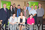 "AWARENESS; Attending the ""Drugs awareness right for parents"" in the Carlton Hotel, Tralee on Thursday evening, Front l-r: Leonie O'Connor, Cllr Grace O'Donnell and Melanie Kelly. Back l-r: Jimmy Denihan TD, Aoife Lynch (SAM),Chris Barrow (KLR), Sean O'Grady (Cllr), Sgt Jim O'Connor, Con Cremins (Talbot Grove), Mary O'Donoghue and Seamus     .........."
