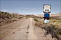 Arizona-Route 66<br /> Sur la route de Oatman
