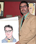 Jon Robin Baitz.attending the celebration for Jon Robin Baitz receiving a Caricature on Sardi's Hall of Fame in New York City on 5/31/2012