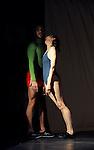 Festival Uzes Danse 2010<br /> BATTEMENT<br /> Choregraphie : David Wampach<br /> Avec : Clemence Gaillard, Valeria Giuga, Aniol Busquets<br /> Le 14/06/2010<br /> Jardin de l'Evêché, Uzès<br /> © Laurent Paillier / photosdedanse.com<br /> All rights reserved