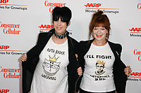 BEVERLY HILLS, CALIFORNIA - FEBRUARY 04: Diane Warren and Frances Fisher at AARP The Magazine's 18th Annual Movies for Grownups Awards at the Beverly Wilshire Four Seasons Hotel on February 04, 2019 in Beverly Hills, California. Credit: ImagesSpace/MediaPunch