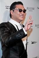 LAS VEGAS, NV - DECEMBER 29: Korean singer, songwriter, rapper and dancer Psy celebrates his birthday and kicks off New Years Eve Gangnum Syle at Pure Nightclub in Las Vegas, on Saturday, December 29, 2012.  Credit: Kabik/Starlitepics/MediaPunch Inc.