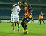 Pereira- Águilas Doradas venció 4 goles por 2 a Millonarios, en el partido correspondiente a la décima primera fecha del Torneo Clausura 2014, desarrollado en el estadio Hernán Ramírez Villegas, en la noche del 24 de septiembre.