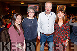 Emma and Breda Dyland, Edward and Margaret Hoare celebrating Thanksgiving in the Rose Hotel on Thursday.