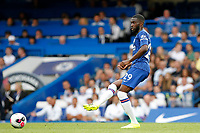 Fikayo Tomori of Chelsea during the Premier League match between Chelsea and Sheff United at Stamford Bridge, London, England on 31 August 2019. Photo by Carlton Myrie / PRiME Media Images.
