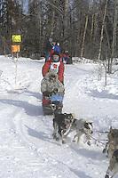 Dries Jacobs Anchorage Start Iditarod 2008.