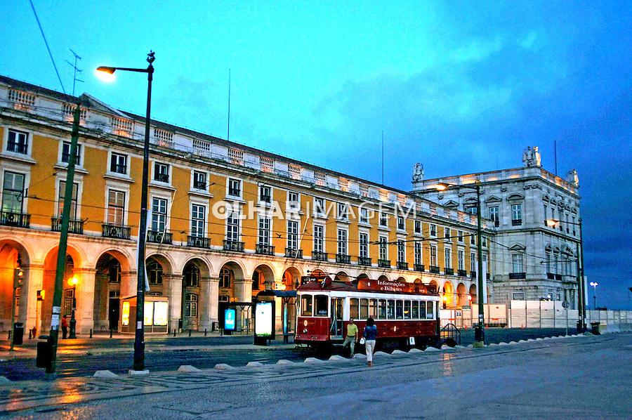 Praça do Comércio. Lisboa. Portugal. 2005. Foto de Rogério Reis.