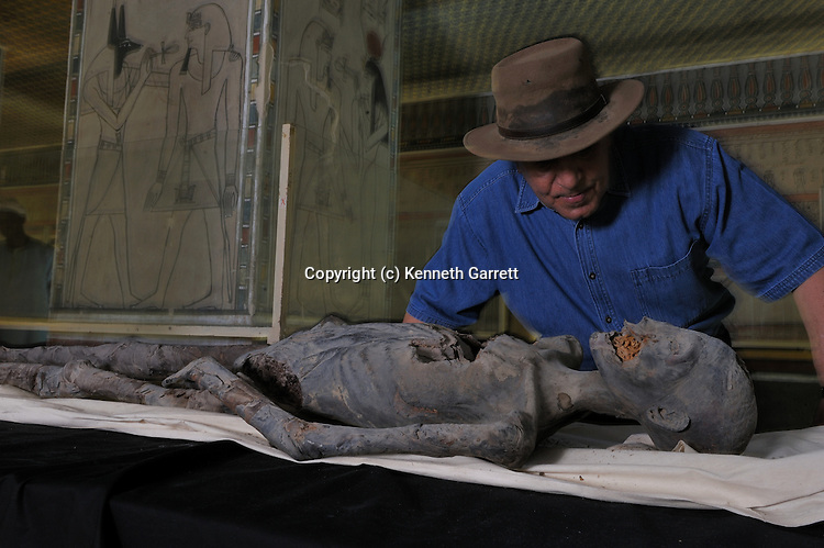 mm7864; 18th Dynasty; New Kingdom; Egypt; KV21; DNA; Sample; Mummy, Dr Hawass, Zahi Hawass