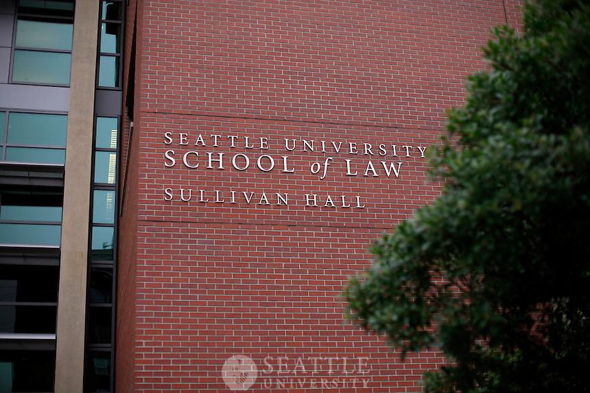 03272012-  Seattle University School of Law, Sullivan Hall exterior