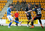 St Johnstone v Kilmarnock...07.11.15  SPFL  McDiarmid Park, Perth<br /> Michael O'Halloran makes it 1-1<br /> Picture by Graeme Hart.<br /> Copyright Perthshire Picture Agency<br /> Tel: 01738 623350  Mobile: 07990 594431