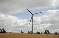 Got a rough idea this is Burton Wold Wind Farm;