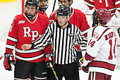 Tommy Grant (RPI - 4), Stephen Drain, Alexander Kerfoot (Harvard - 14) - The Harvard University Crimson defeated the visiting Rensselaer Polytechnic Institute Engineers 5-2 in game 1 of their ECAC quarterfinal series on Friday, March 11, 2016, at Bright-Landry Hockey Center in Boston, Massachusetts.
