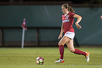 Stanford, CA - August 26, 2016:  Andi Sullivan at Laird Q. Cagan Stadium against the University of Florida. The Cardinal defeated the Gators 1-0, scoring the game's only goal in the first overtime period.