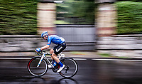 Marco Canola (ITA/Gazprom-RusVelo)<br /> <br /> racing in torrential rains at <br /> Grande Trittico Lombardo 2020 (1.Pro/ITA)<br /> 1 day race from Legnano to Varese (200km)
