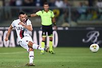 Nicola Sansone of Bologna scores a goal <br /> Verona 25/08/2019 Stadio Bentegodi <br /> Football Serie A 2019/2020 <br /> Hellas Verona - Bologna FC  <br /> Photo Daniele Buffa / Image Sport / Insidefoto