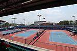 General view,<br /> AUGUST 22, 2018 - Tennis : <br /> Women's Doubles Round of 16<br /> at Jakabaring Sport Center Tennis Court <br /> during the 2018 Jakarta Palembang Asian Games <br /> in Palembang, Indonesia. <br /> (Photo by Yohei Osada/AFLO SPORT)