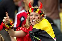 A Belgium fan