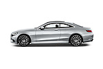 Car Driver side profile view of a 2017 Mercedes Benz S-Class - 2 Door Coupe Side View