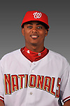 14 March 2008: ..Portrait of Michael Martinez, Washington Nationals Minor League player at Spring Training Camp 2008..Mandatory Photo Credit: Ed Wolfstein Photo