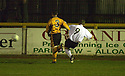25/03/2003                   Copright Pic : James Stewart.File Name : stewart-alloa v ayr 04.STEPHEN WHALEN SCORES AYR'S FIRST.James Stewart Photo Agency, 19 Carronlea Drive, Falkirk. FK2 8DN      Vat Reg No. 607 6932 25.Office     : +44 (0)1324 570906     .Mobile  : +44 (0)7721 416997.Fax         :  +44 (0)1324 570906.E-mail  :  jim@jspa.co.uk.If you require further information then contact Jim Stewart on any of the numbers above.........