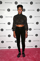 LOS ANGELES, CA - AUGUST 10: Daphnique Springs, at Beautycon Festival Los Angeles 2019 - Day 1 at Los Angeles Convention Center in Los Angeles, California on August 10, 2019.  <br /> CAP/MPI/SAD<br /> ©SAD/MPI/Capital Pictures